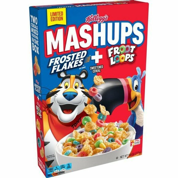 LIMITED EDITION Frosted Flakes + Froot Loops 3/21